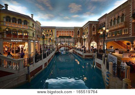 Venetian Macau Interior View