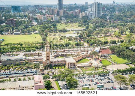 Kenya Parliament Buildings, Nairobi