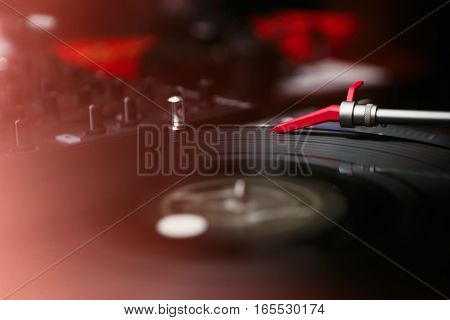 Professional Dj Audio Vinyl Record Disc Player Turntable
