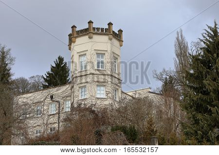 A Palace in the city of Eisenach