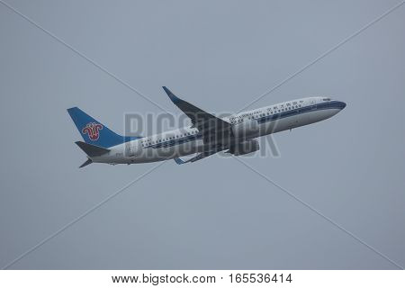 B-6067 Boeing 737-800 Of China Southern Airline.