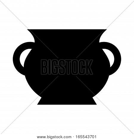 Treasure jar isolated icon vector illustration design