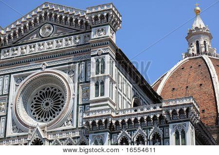 Duomo Santa Maria Del Fiore and Campanile. Florence, Italy