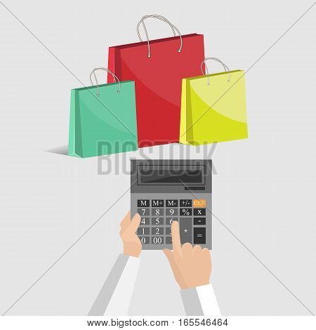 vector calculator and purchases, count on purchases costs