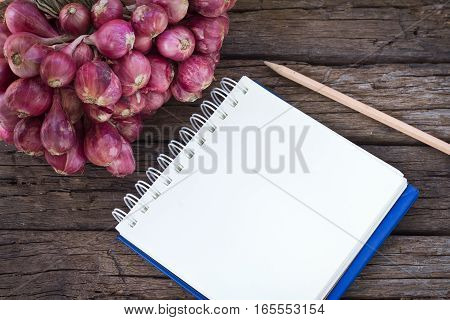 Onions On The Wood