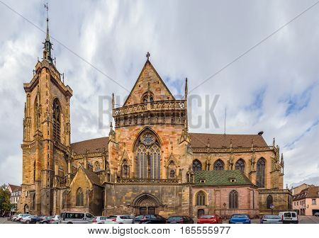 The Eglise Saint-Martin (St. Martin church) is the main church and principal Gothic monument of Colmar Haut-Rhin France