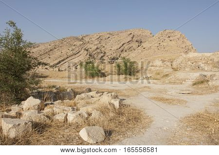 Landscape of Fars Province, Iran, Middle East, Asia