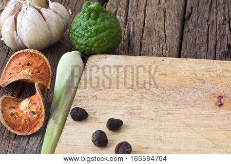 Thai Food Ingredients
