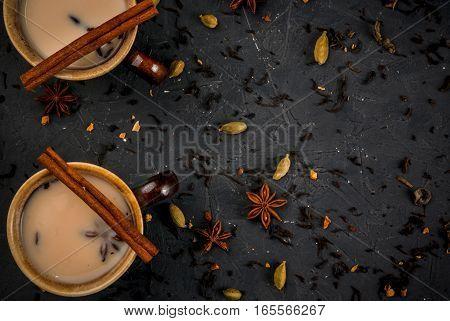 Traditional Indian Masala Chai