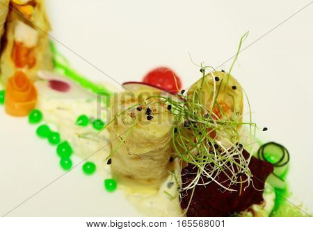 Pieces Of Flaky Fish Pie
