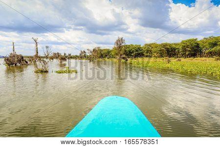 Lake Cruise By Blue Canoe, Naivasha, Kenya