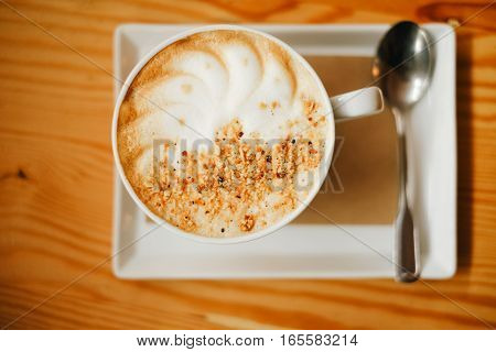 Nutty Cappuccino