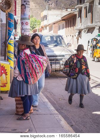 Steet Of Cusco