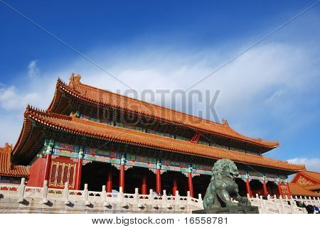 Forbidden City of Beijing,China poster