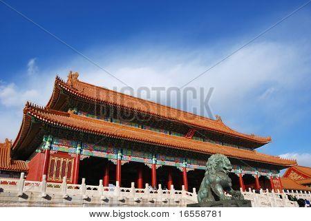 Forbidden City of Beijing,China