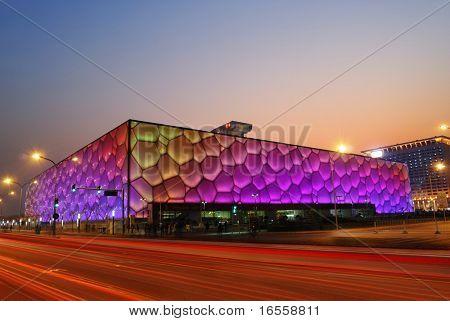 December 18: Beijing's swimming Stadium (