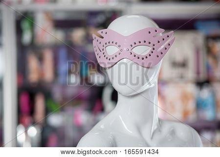 Sexual Face Pack For Girls On A Dummy. Carnival Face Pack.