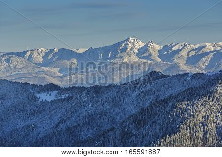 Snowy Ciucas Mountains, Romania
