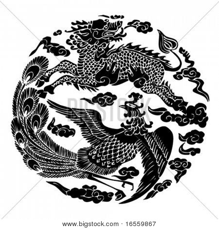 Vector of Chinese Traditional Artistic Pattern.