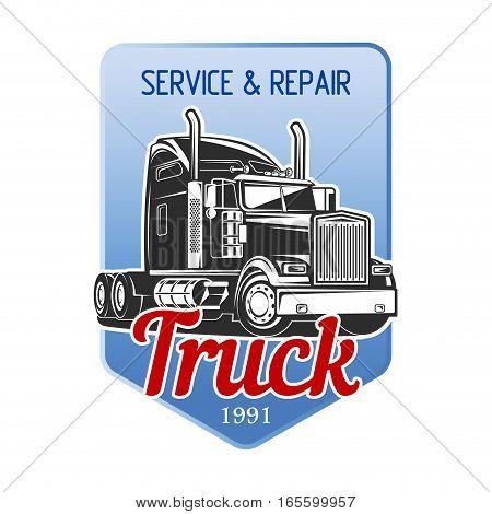 Transportation Car Truck Logo Vector illustration Design