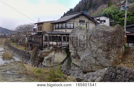 Japanese Traditional Houses In Yamagata