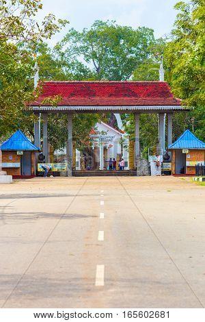 Anuradhapura Sri Maha Bodhi Street Entrance Gate V