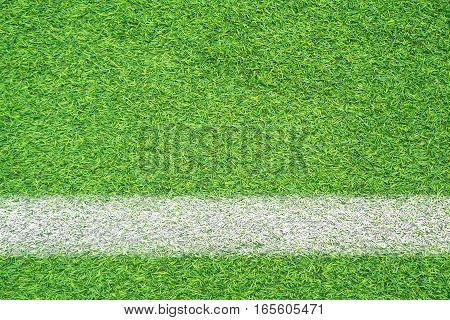 artificial green grass texture of sport field
