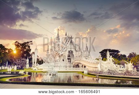 Beautiful Temple In Thailand