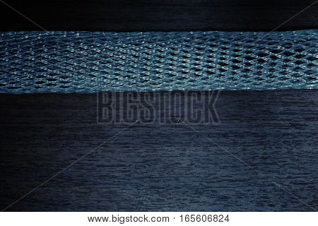 abstract of plastic wrap net for background used