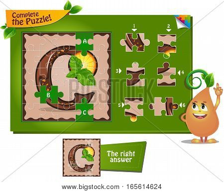 Puzzle Letters Of The Alphabet C