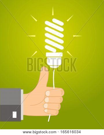 concept ideas - leadership gives an idea