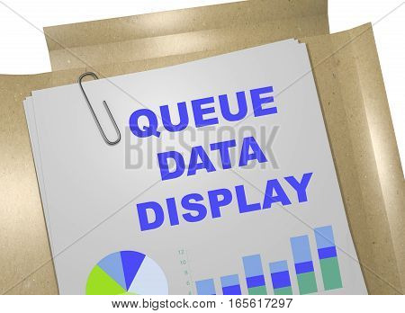 Queue Data Display Concept