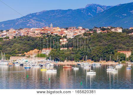 Corsica Island, France. Old Porto-vecchio