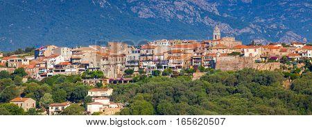 Porto-vecchio Town Cityscape, Corsica