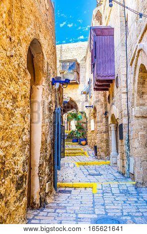 The Maze Of Jaffa Streets