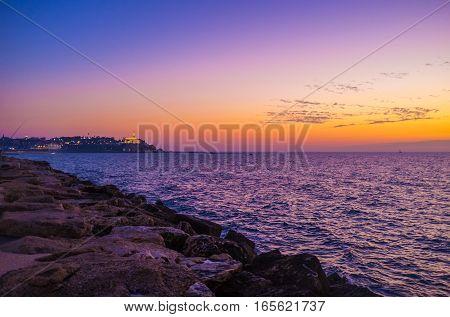 The Twilight Over The Jaffa