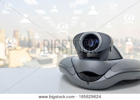 Video Conference Device connect to multi device for meeting