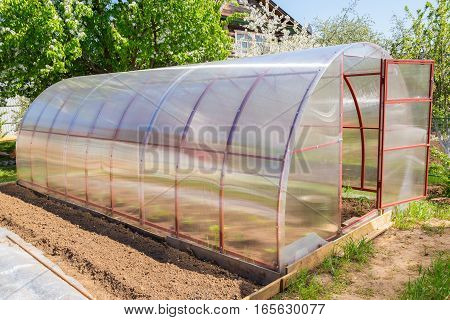 Greenhouse Polycarbonate Is In The Garden