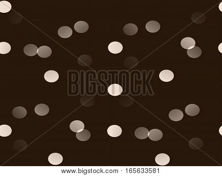 abstract seamless background on beige brown bulky tablet buttons