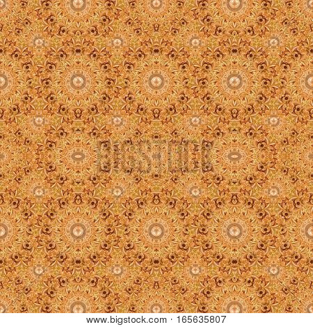 Intricate Modern Ornate Baroque Seamless Pattern