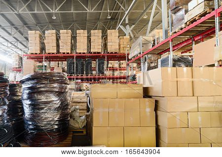 Warehouse Transport And Freight Company.