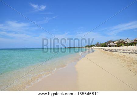 Playa Ancón, near Trinidad, in the island of  Cuba.