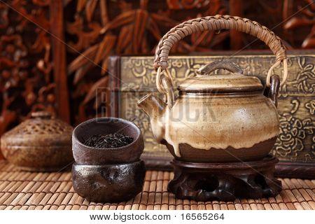 china tea background