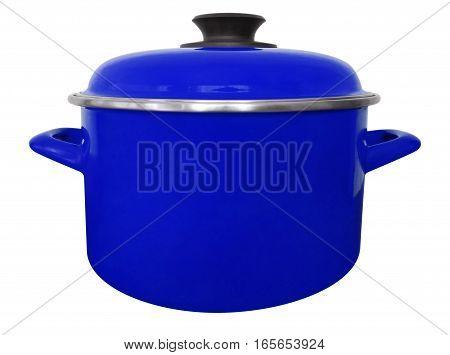 Saucepan Isolated - Dark Blue