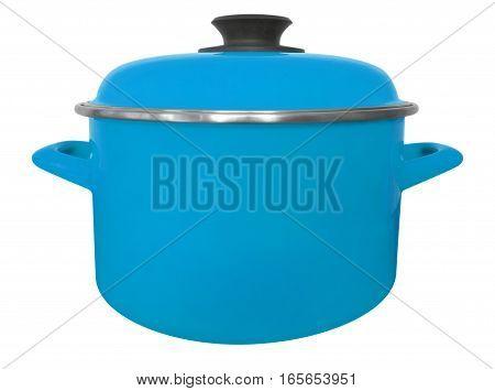 Saucepan Isolated - Light Blue
