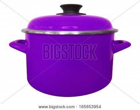 Saucepan Isolated - Violet
