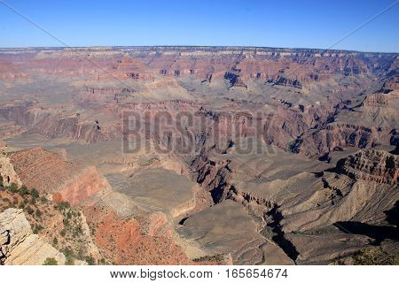 The national park Grand canyon in America