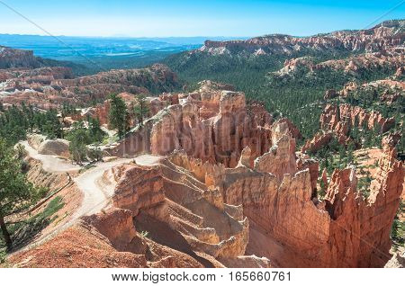 Queens Garden Trail in Bryce Canyon Utah
