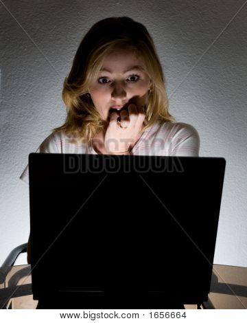 Das Durchsuchen in der Dunkelheit