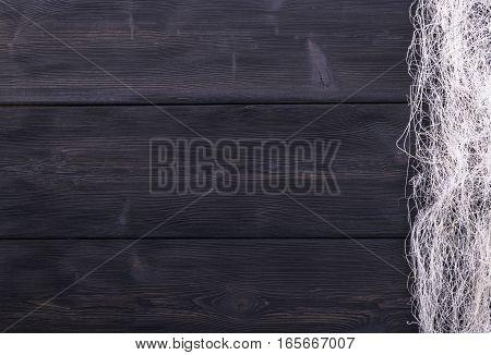 dark wood texture background with woven thread